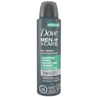 Dove Men +Care Sensitive Shield Dry Spray Antiperspirant