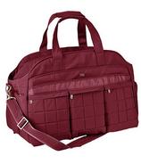 Lug Airbus Weekender Bag Cranberry Red