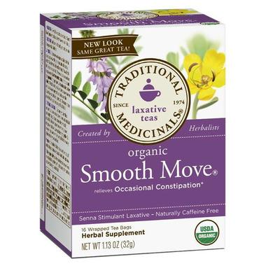 Traditional Medicinals Organic Smooth Move Senna Tea