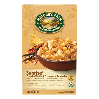 Nature\'s Path Organic Crunchy Vanilla Sunrise