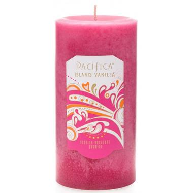 Pacifica Pillar Candle Island Vanilla