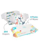 The Honest Company Size 3 Diapers & Wipes Bundle