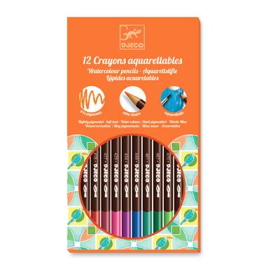 Djeco Water Colour Pencil Crayons