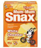 Hot-Kid Mum-Mum Snax White Cheddar Rice Crackers