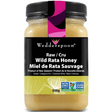 Wedderspoon Raw Rata Honey