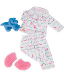 Our Generation Counting Puppies Dog Print PJ's Outfit
