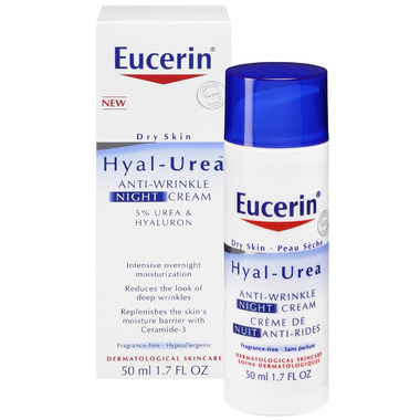 Eucerin Hyal-Urea Anti-Wrinke Night Cream with 5% Urea&Hyaluron