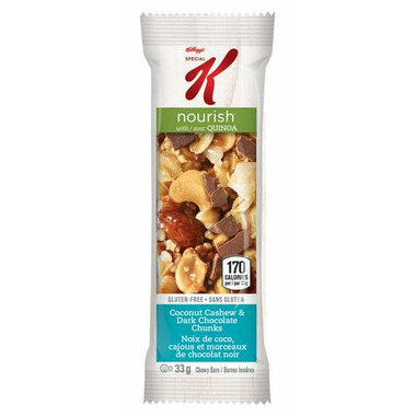 Special K Nourish with Quinoa Coconut Cashew & Dark Chocolate Chunks Sample