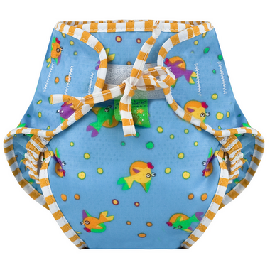 Kushies Washable Swim Diaper Goldfish