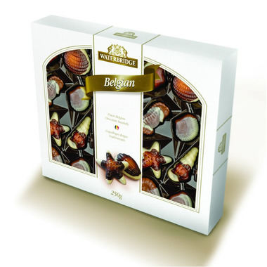 Waterbridge Finest Belgian Chocolate Seashells