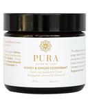 Pura Botanicals Honey & Ginger Deodorant