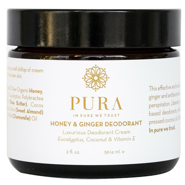 Pura Botanicals Honey & Ginger Deodorant