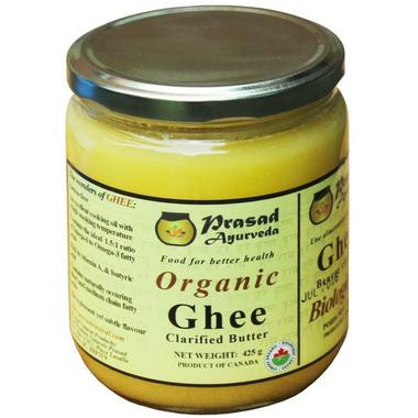 Prasad Ayurveda Certified Organic Ghee