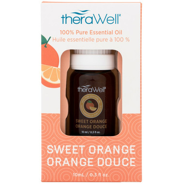 Therawell 100% Pure Sweet Orange Essential Oil