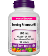 Webber Naturals Evening Primrose Oil Softgels
