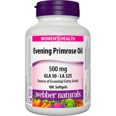 Webber Naturals Evening Primrose Oil Softgels