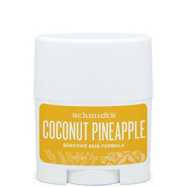 Schmidt\'s Deodorant Coconut Pineapple Sensitive Skin Travel Size Deodorant