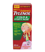Children's Tylenol Cold & Stuffy Nose Suspension Liquid
