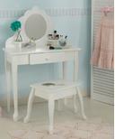 KidKraft Medium Vanity & Stool White