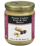 Nuts to You Peanut Cashew Fruit & Nut Butter