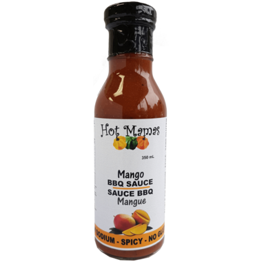 Hot Mamas Mango Mango BBQ Sauce