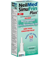 NeilMed SinuFrin Plus Oxymetazoline HCI Decongestant Moisturizing Gel