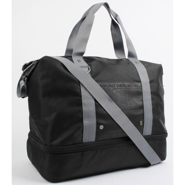Buffalo David Bitton Jules Messenger in Black