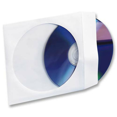 Compucessory CD/DVD Window Envelopes