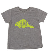 Little Orchard Co. Be Brave Tee Grey