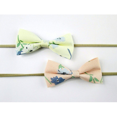 Baby Wisp Elegant Floral Print Headband