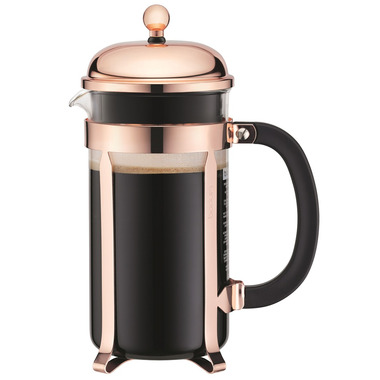 Bodum Chambord French Press Coffee Maker Copper