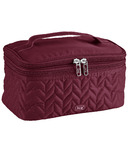 Lug Two-Step Cosmetic Case Cranberry Red