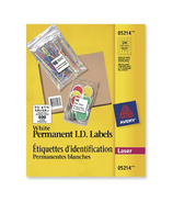 Avery Permanent White Identification Labels