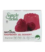 Simply Delish Natural Raspberry Jel Dessert
