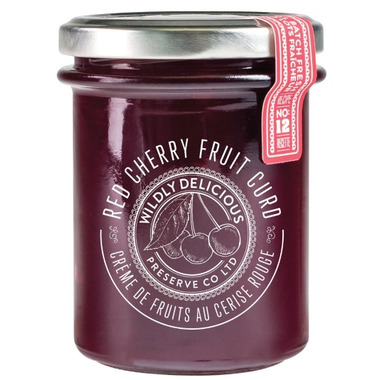 Wildly Delicious Red Cherry Fruit Curd