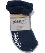 Juddlies Newborn Baby Socks Navy