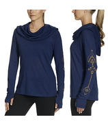 Gaiam Emery Cowl Top Midnight