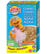 Earth's Best Organic Sesame Street Yummy Tummy Instant Oatmeal