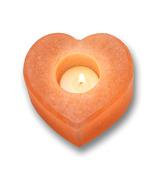 Heartfelt Living Heart Shape Salt Tea Light Holder