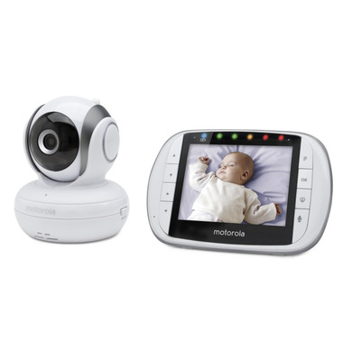 buy motorola mbp36s digital video baby monitor at free shipping 35 in canada. Black Bedroom Furniture Sets. Home Design Ideas