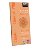 Kaoka Chocolate Bar Dark Orange Chocolate