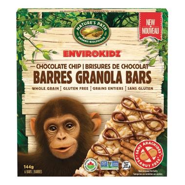 Nature\'s Path EnviroKidz Granola Bars Chocolate Chip