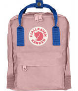 Fjallraven Kanken Mini Backpack Pink & Air Blue