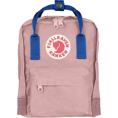 Fjallraven Kanken Mini Backpack Pink & Air Blue