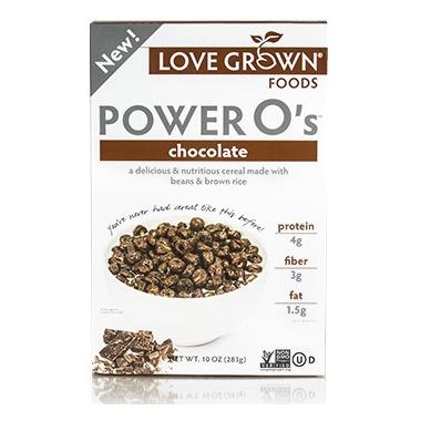 Love Grown Foods Power O\'s Chocolate