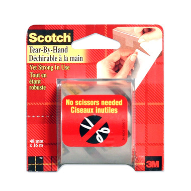 3M Scotch Tear-By-Hand Packaging Tape