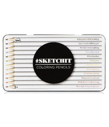 NPW Sketchit Colouring Pencils