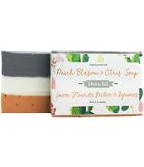Dot & Lil Peach Blossom & Citrus Bar Soap