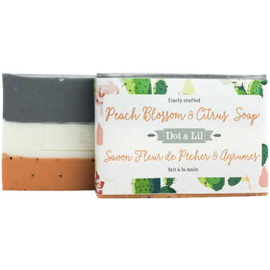 Dot & Lil Peach Blossom & Citrus Bar Soap
