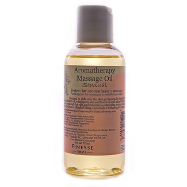 Finesse Home Sensual Massage Oil